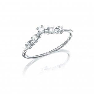 טבעת יהלומים RZ187 גולדי - Goldy