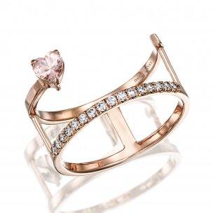 טבעת קלואי מורגנייט RA486B