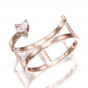 טבעת קלואי מורגנייט RA486