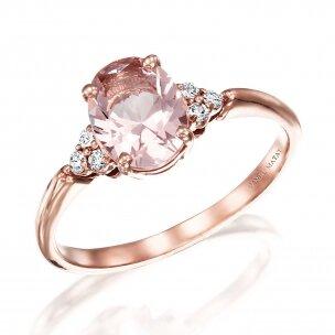 טבעת פינק אובל RB354