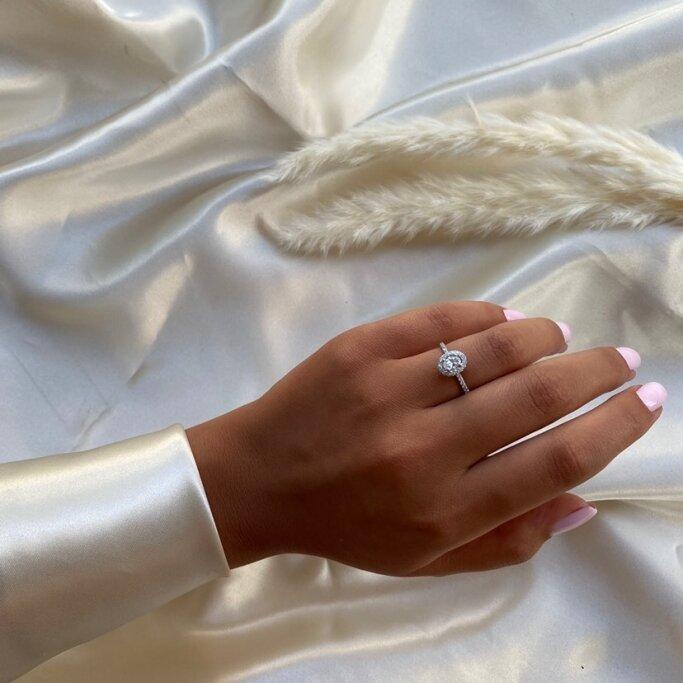 טבעת אירוסין RB219O