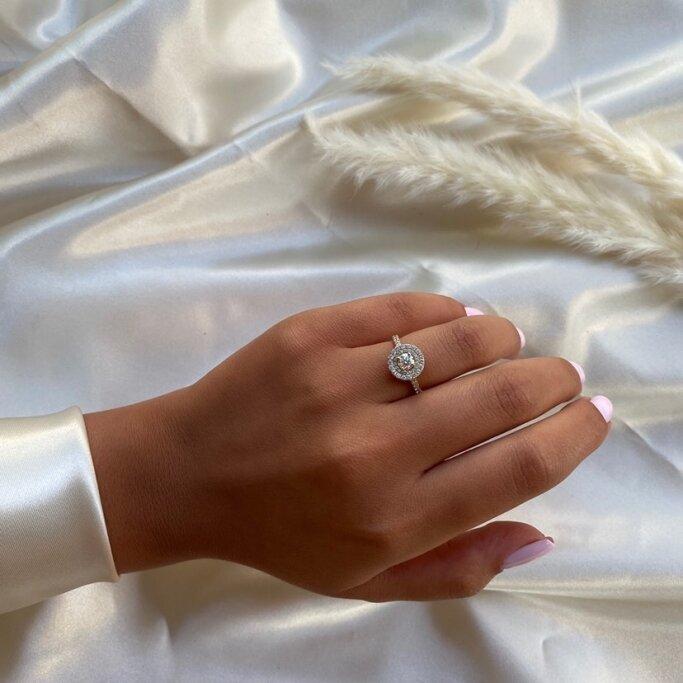 טבעת אירוסין RB219TW