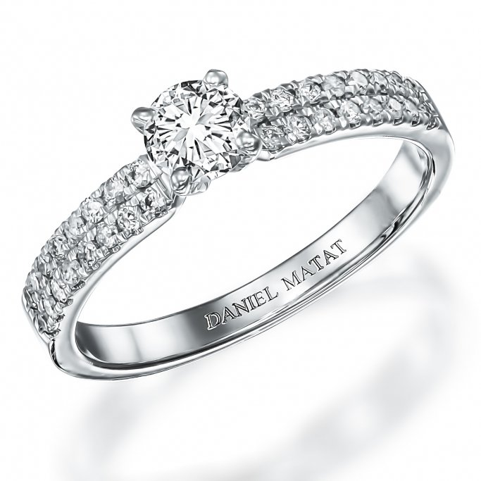 RA305Bw טבעת אירוסין