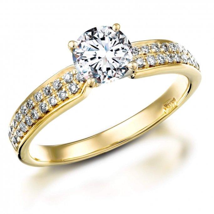 טבעת אירוסין RA214BY