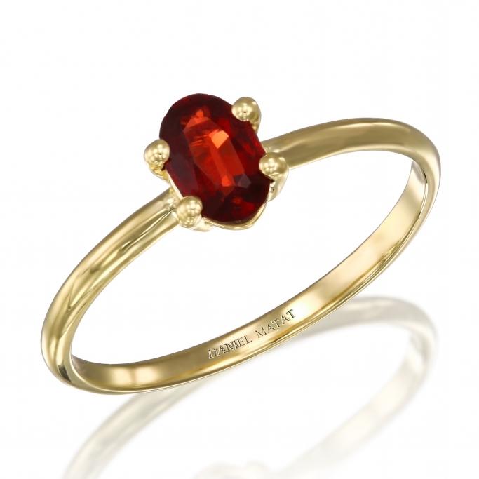 טבעת אבן חן גראנט אוולי
