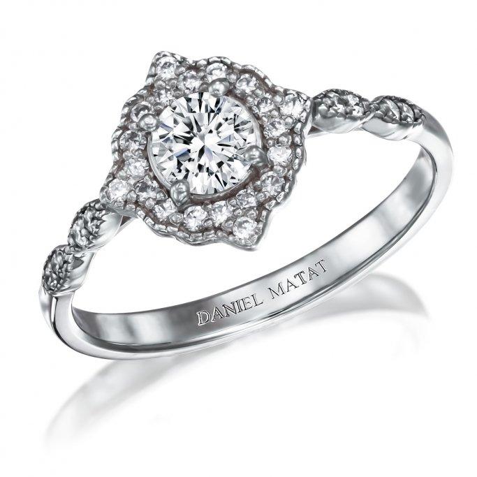 טבעת אירוסין יהלומים RB316T