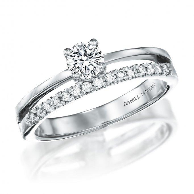 טבעת אירוסין יהלומים RA238B