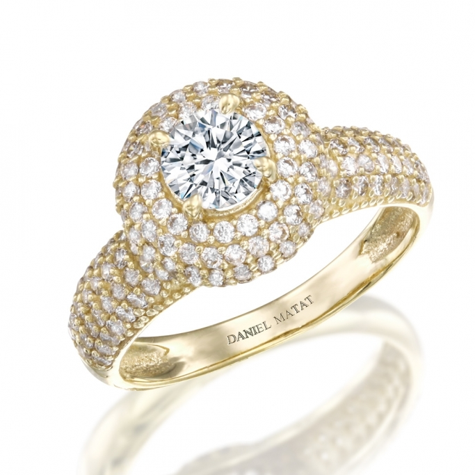 טבעת זרקונים GZ27