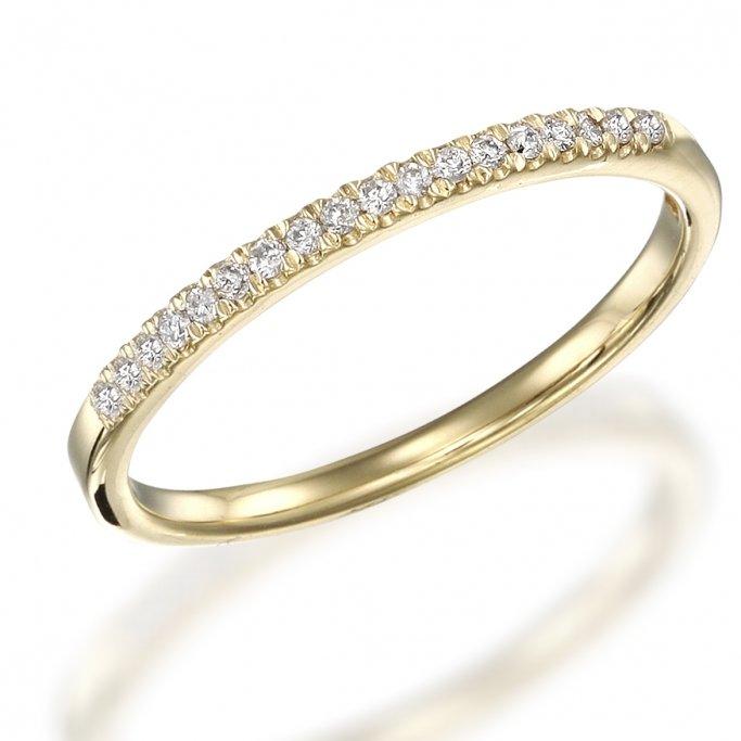 טבעת חצי נישואין יהלומים rd212 0.09