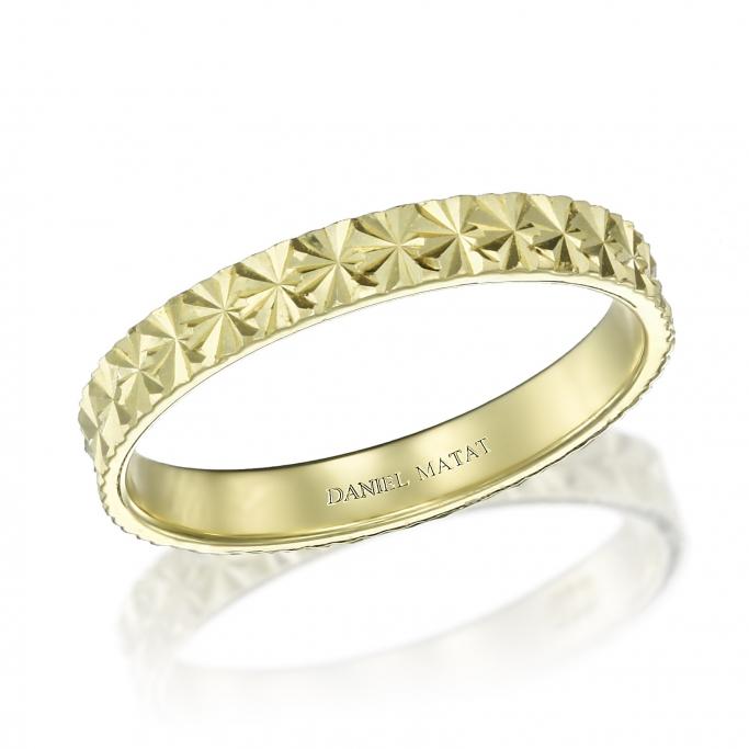 טבעת נישואין W2616
