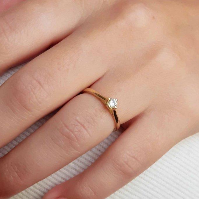 טבעת אירוסין RA420