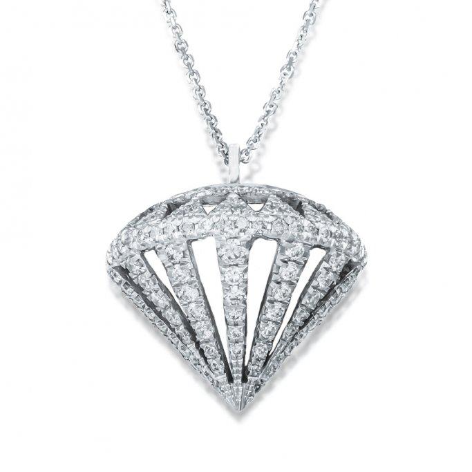 שרשרת בצורת יהלום