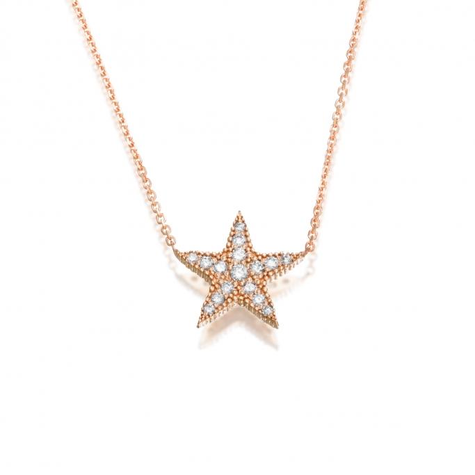 שרשרת כוכב יהלומים P214-4