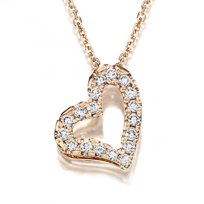 שרשרת לב יהלומים L30