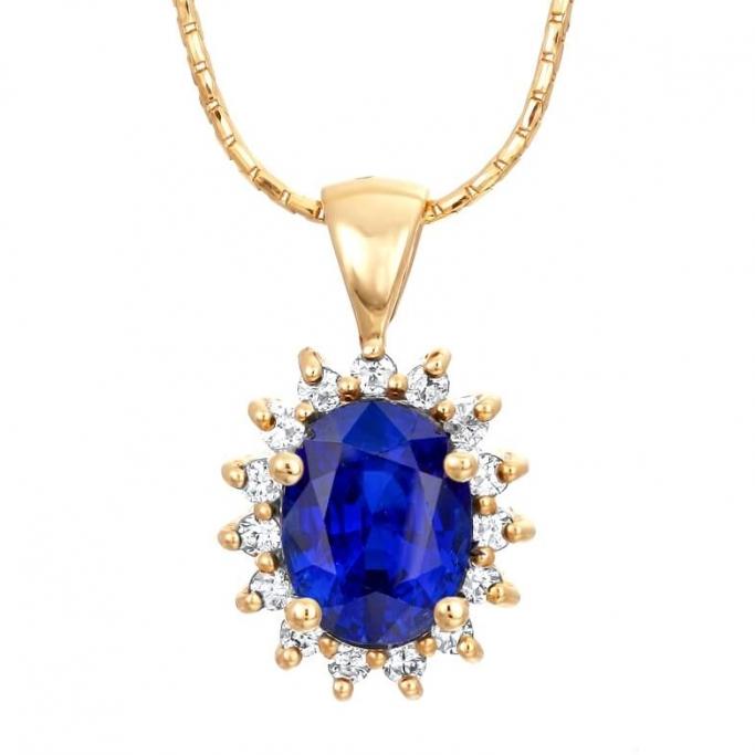 תליון דיאנה יהלומים
