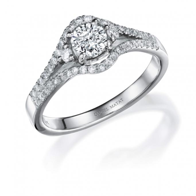 טבעת אירוסין RB247