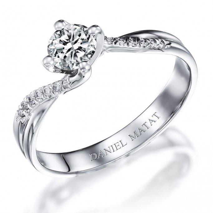 טבעת אירוסין יהלומים RA390B