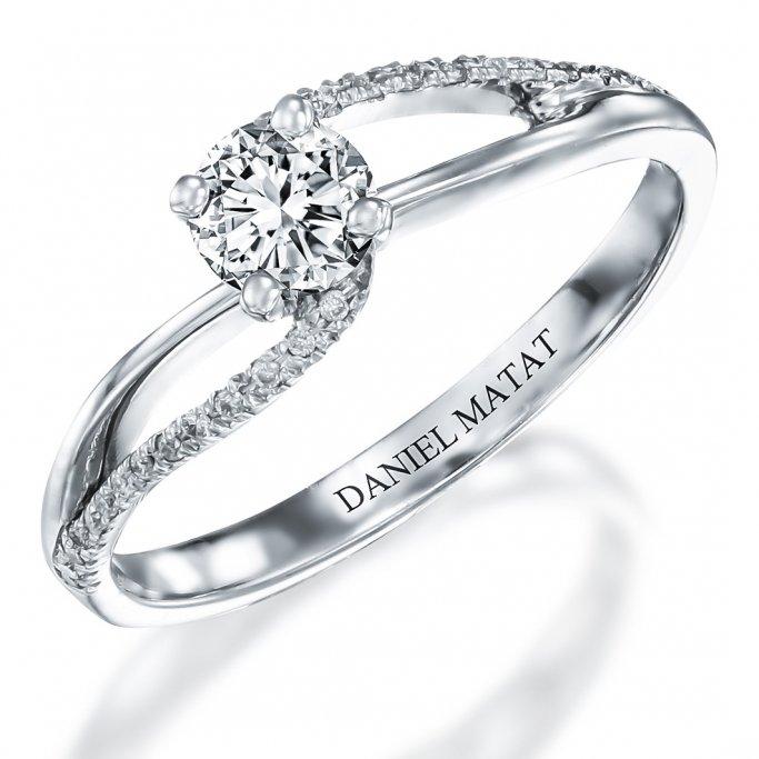 טבעת אירוסין יהלומים RB203