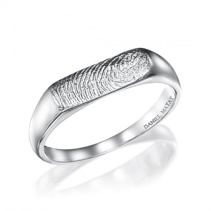 טבעת טביעת אצבע RZ142