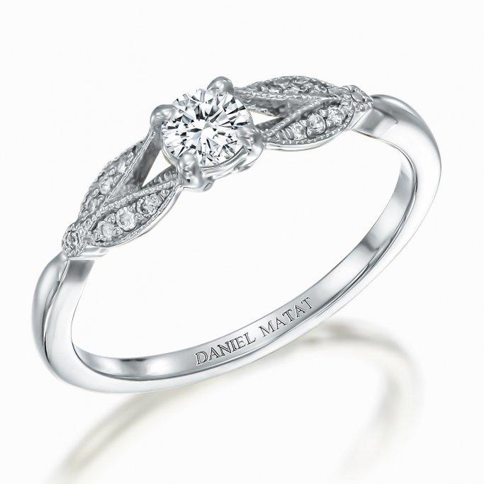 טבעת אירוסין יהלומים RB315
