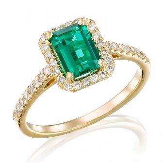 טבעת אמרלד שטה