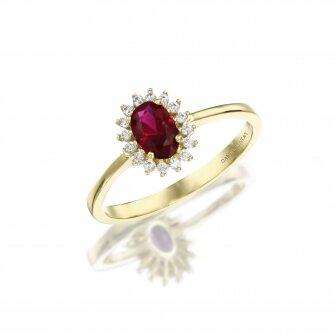 טבעת דיאנה זרקונים