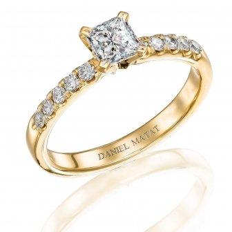 טבעת אירוסין פרינסס 298P