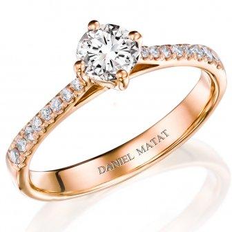 טבעת אירוסין יהלומים RA420R
