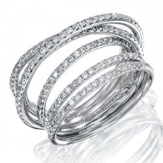 טבעת יהלומים RZ114