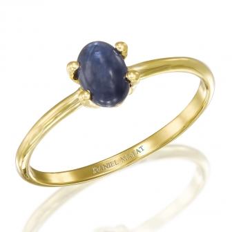 טבעת אבן חן ספיר