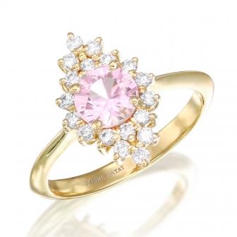 טבעת יהלומים אבן חן טמטיסט