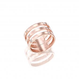 טבעת זהב GZ29