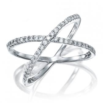 טבעת איקס יהלומים RZ99