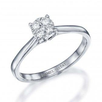טבעת אירוסין דגם RA324A