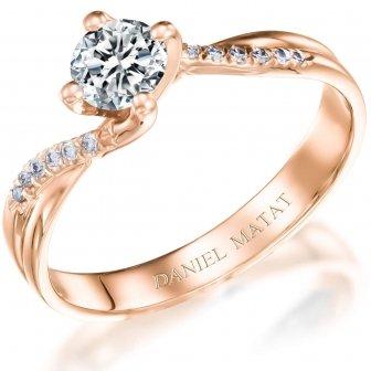טבעת אירוסין דגם RA390R