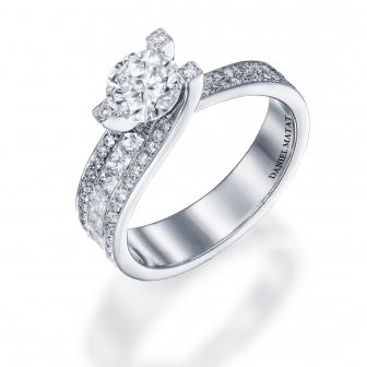 טבעת אירוסין דגם RB130