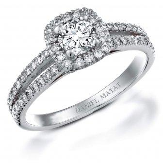 טבעת אירוסין דגם RB165