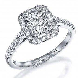 טבעת אירוסין דגם RB166EM