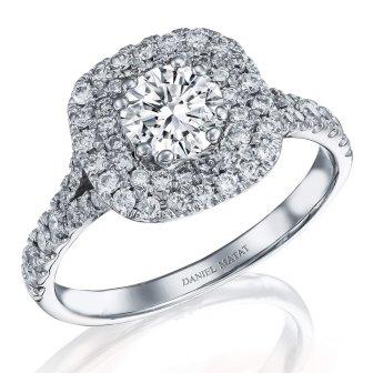 טבעת אירוסין דגם RB279