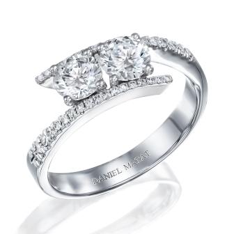 טבעת אירוסין דגם RN202B
