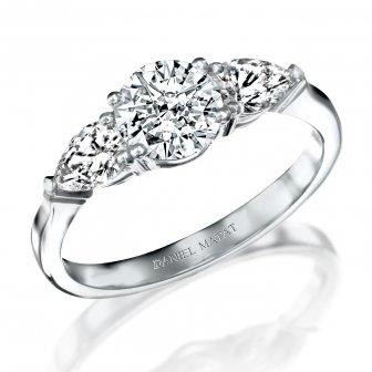 טבעת אירוסין יהלומים RJ69