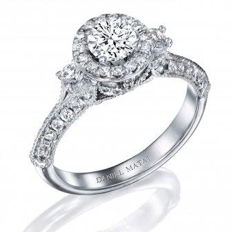 טבעת אירוסין יהלומים RB285