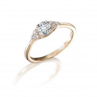 טבעת אירוסין יהלומים RB305