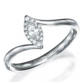 טבעת אירוסין יהלומים מרקיזה RA322