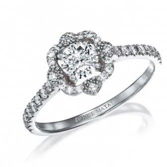 טבעת אירוסין יהלומים L12