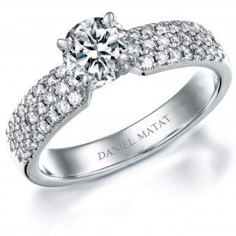 טבעת אירוסין דגם RA341BW