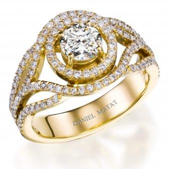 טבעת אירוסין דגם RB119
