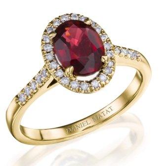 טבעת אירוסין דגם RB238GY
