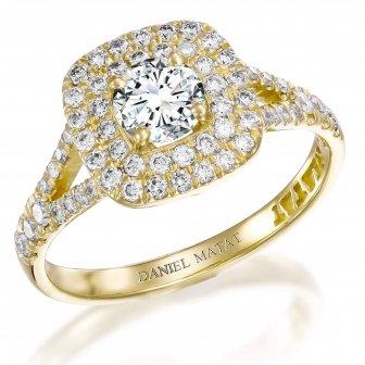 טבעת אירוסין יהלומים RB27