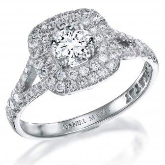 טבעת אירוסין יהלומים RB272